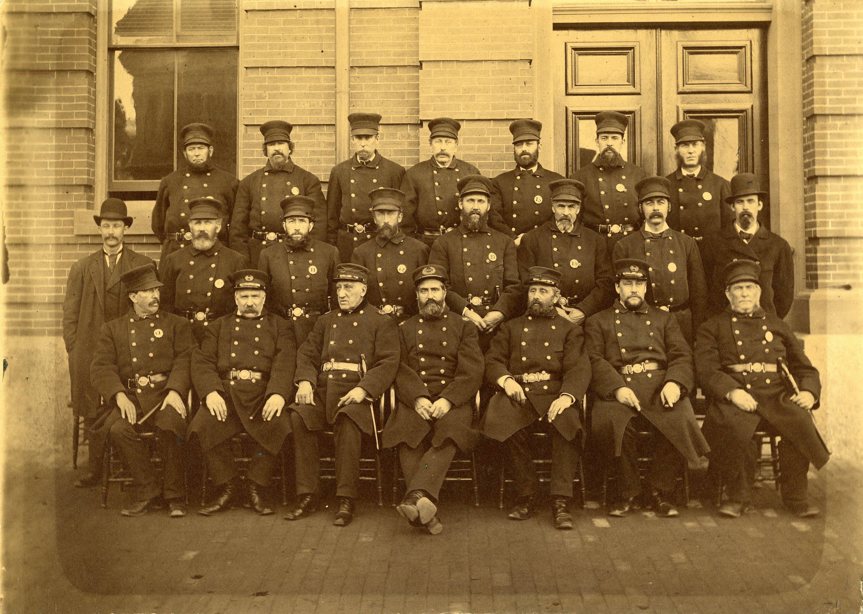 Cambridge Police Department, circa 1890