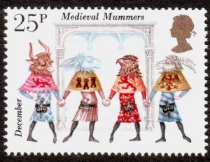 Mummer Stamp